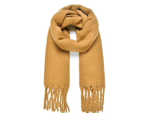 Bronze Plain Blanket Scarf