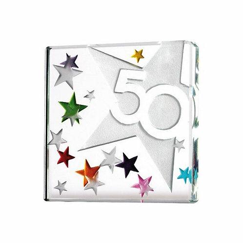 Spaceform Miniature Glass Token | 50