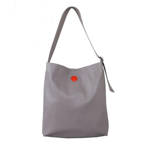 Red Cuckoo Silver Shoulder Bag