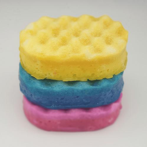 Olympea Inspired Soap Sponge (Blue)