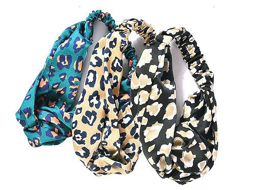 Leopard Head Scarves