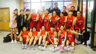 學界女子甲組籃球再次闖入決賽