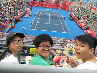 【導賞活動】保誠香港網球公開賽2017