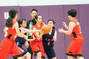 學界女子甲組籃球打入4強