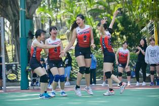 【學生成就】女子乙組排球打入4強
