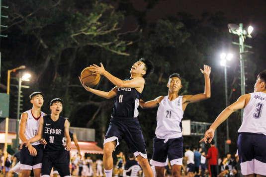 學界男子甲組籃球16強
