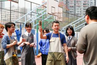藝術家吳家俊「阿喜」邀請同學們打破看待事物的習慣
