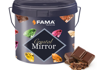 CRYSTAL MIRROR DARK CHOCOLATE 4KG FAMA