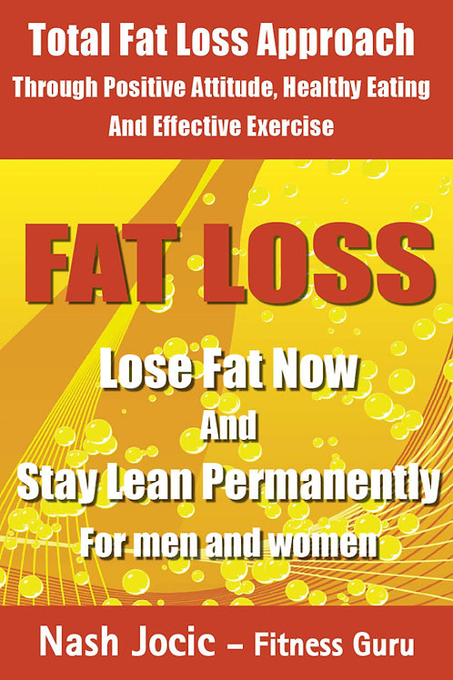 Fat Burning and Weight Loss E-Book