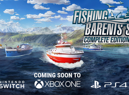 Fishing: Barents Sea coming soon for consoles