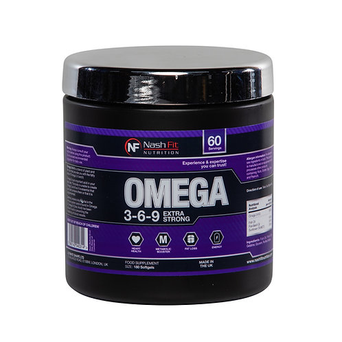 Omega 3-6-9 (180 SoftGel Capsules - 60 servings)
