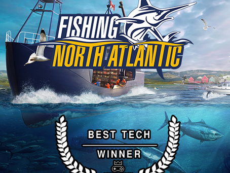 Fishing: North Atlantic won Best Tech in the Norwegian Game Award