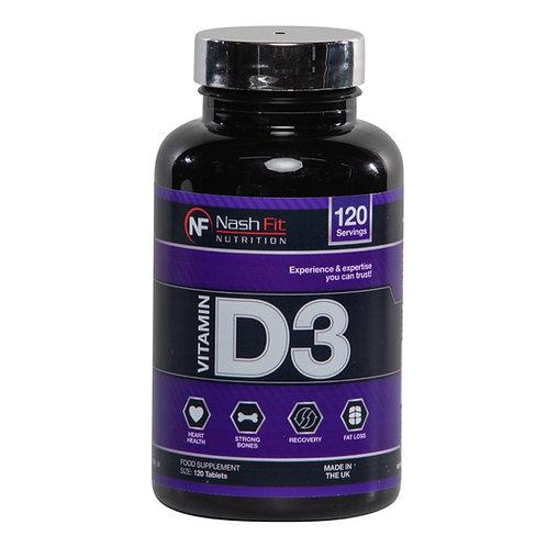 Vitamine D3 (120 Tablets - 120 servings)