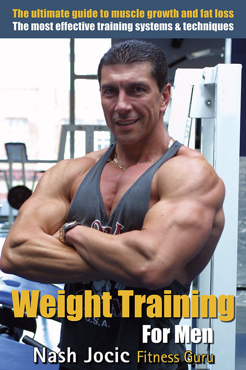 Weight Training For MEN Book