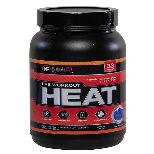 Pre-Workout HEAT (500g - 33 servings)