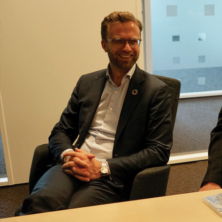 Meeting with our minister of digitalisation today