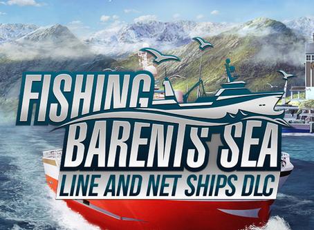 Fishing: Barents Sea – Line and net ships DLC