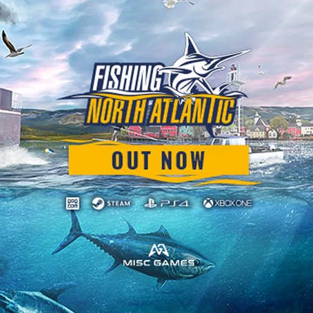 Fishing: North Atlantic now out on PS4/XB1