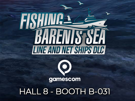 Fishing: Barents Sea at GamesCom 2018