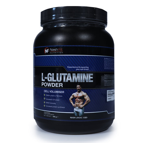 L-Glutamine (0.5kg - 100 servings)