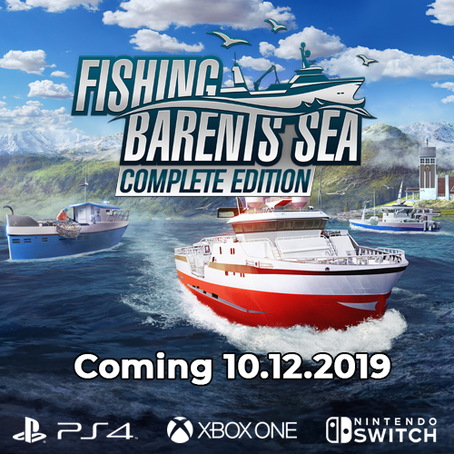 Fishing: Barents Sea – Complete Edition for consoles