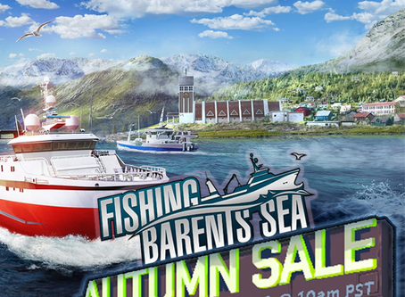 Get Fishing: Barents Sea for 33% off!