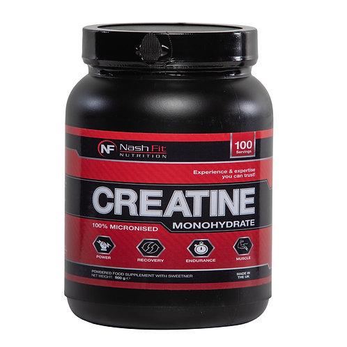 Creatine Monohydrate (500g - 100 servings)