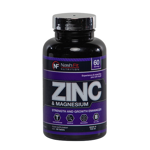 Zinc & Magnesium (120 Tablets - 60 servings)