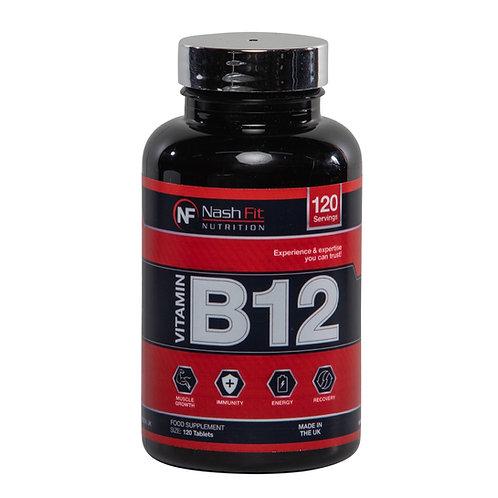 Vitamine B12 (120 Tablets - 120 servings)