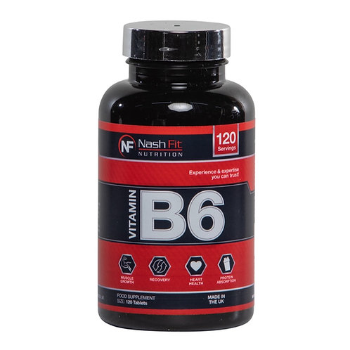 Vitamine B6 (120 Tablets - 120 servings)