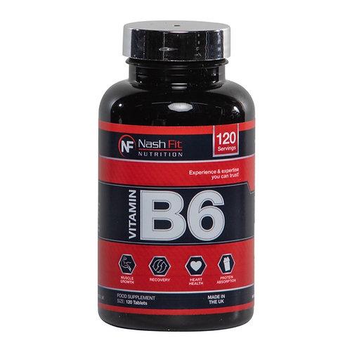 Vitamine B6 (120 Tablets - 120 servings)
