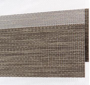 Designer Banded Shades Fabric: Aria