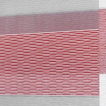 Designer Banded Shades Fabric: Millennium