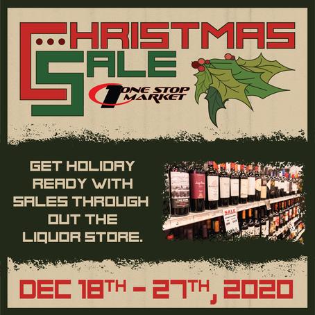 Christmas Sale @ the OSM