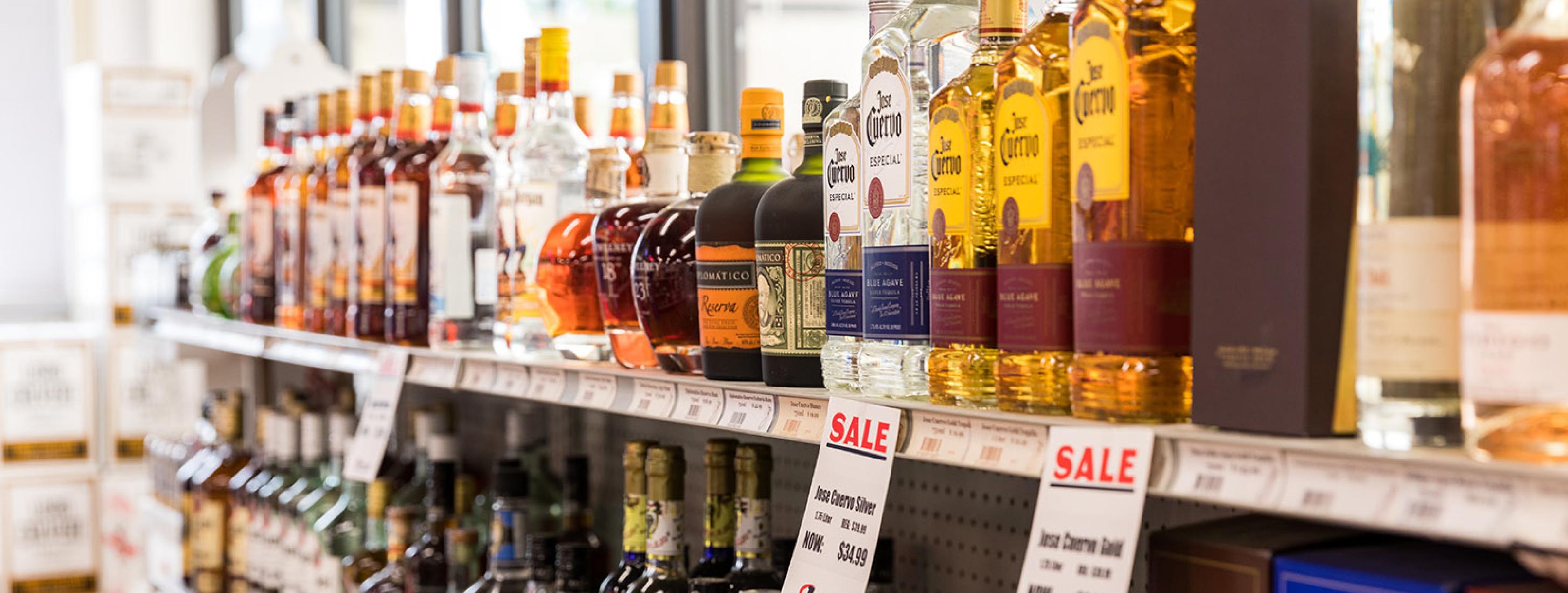 Liquor Shelf web slider -  UPDATE AFTER