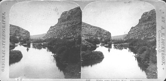 The Rise in the 1900s - Photo courtesy of sinkscanyonstatepark.org