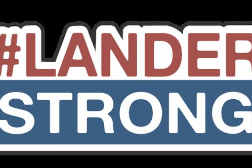 Lander Strong Sticker