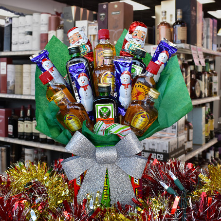 We now have Holiday Gift Baskets available!