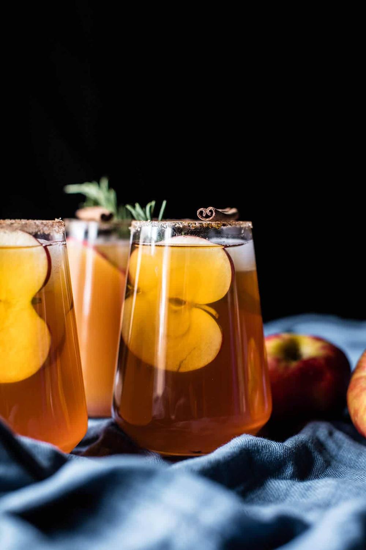 Smokey Apple Cider Margaritas