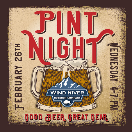 Pint Night at Wind River Outdoor Company