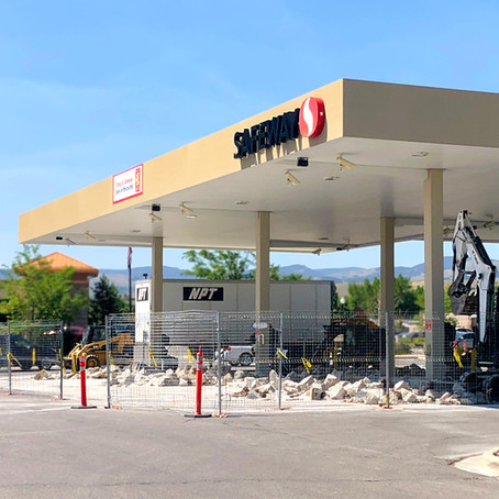 Safeway Fuel Center is down for 6 to 8 Weeks