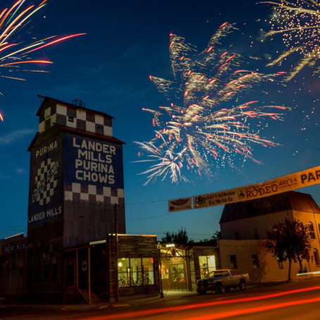 What's so special about the 4th of July in Lander?