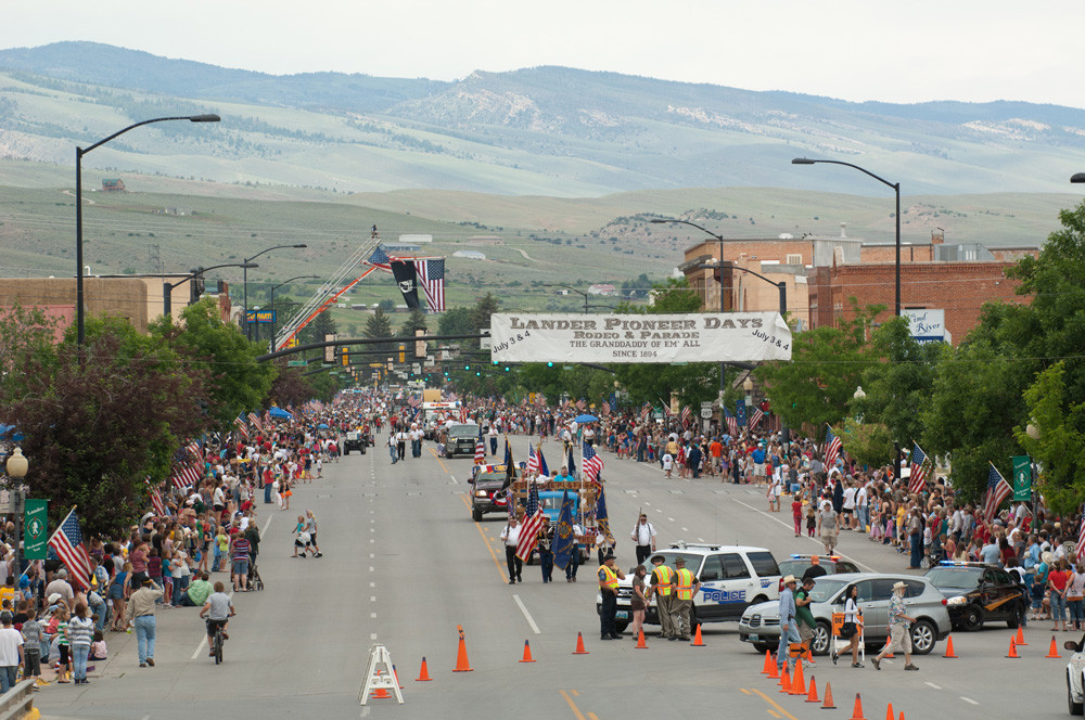 Lander's 4th Of July Main Street Parade