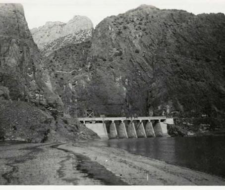 History: Boysen Dam