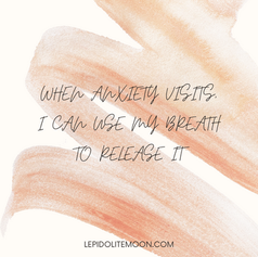 anxiety affirmation