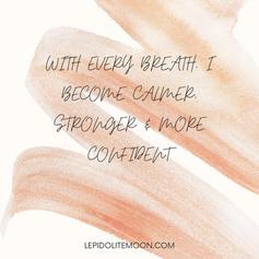stronger affirmation
