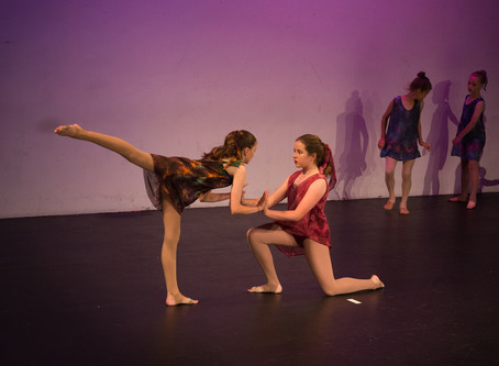 A little bit about Contemporary Dance in Australia and overseas