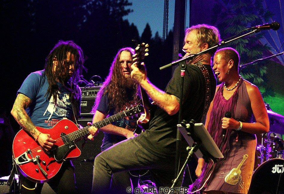 Anders Osborne Band and Margie Perez
