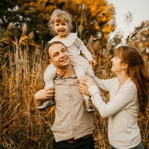 Halszka z rodziną