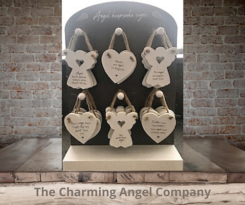 Angel Wings Mini Signs